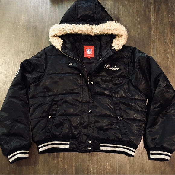 NFL Jackets & Blazers - NFL Raiders Team Puffer Jacket